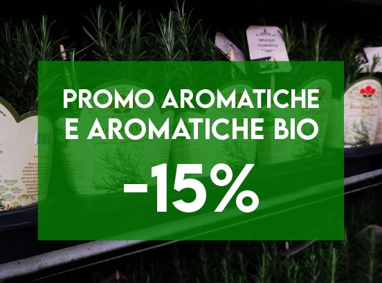 Promo Aromatiche & Aromatiche BIO fino al -15%